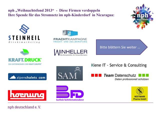 nph weihnachtsfond-2013-firmenspender