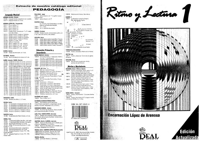 ritmo y lectura 3 encarnacion lopez de arenosa pdf