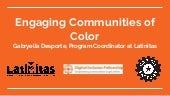 NPTechClubATX - Engaging Communities of Color