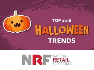 Top 2016 Halloween Trends