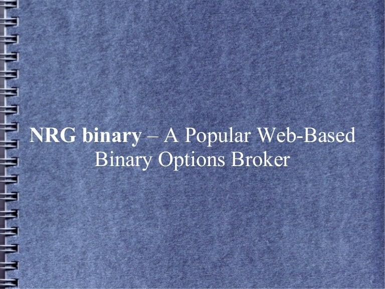 NRG binary Reviews | Binary Options NRG Capital Reviews