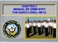 NS2 Manual of Arms with NJROTC Drill Rifle