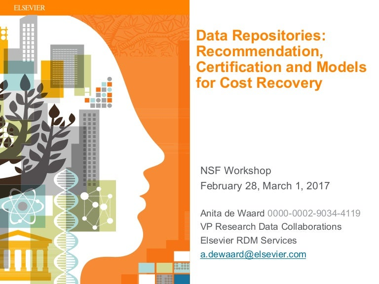 Data Repositories Recommendation Certification And Models For Cost