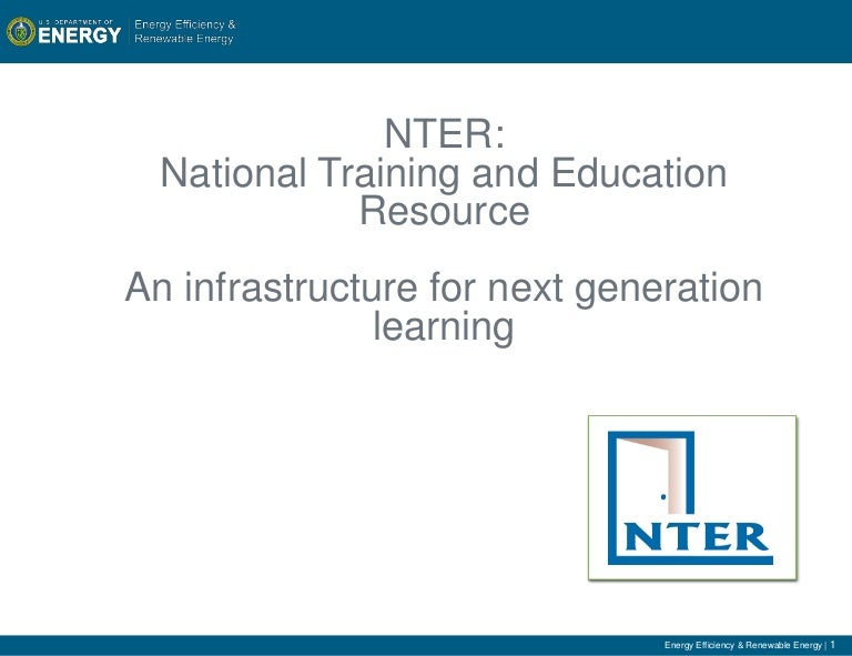 Enter the New World of Online Learning with NTER!