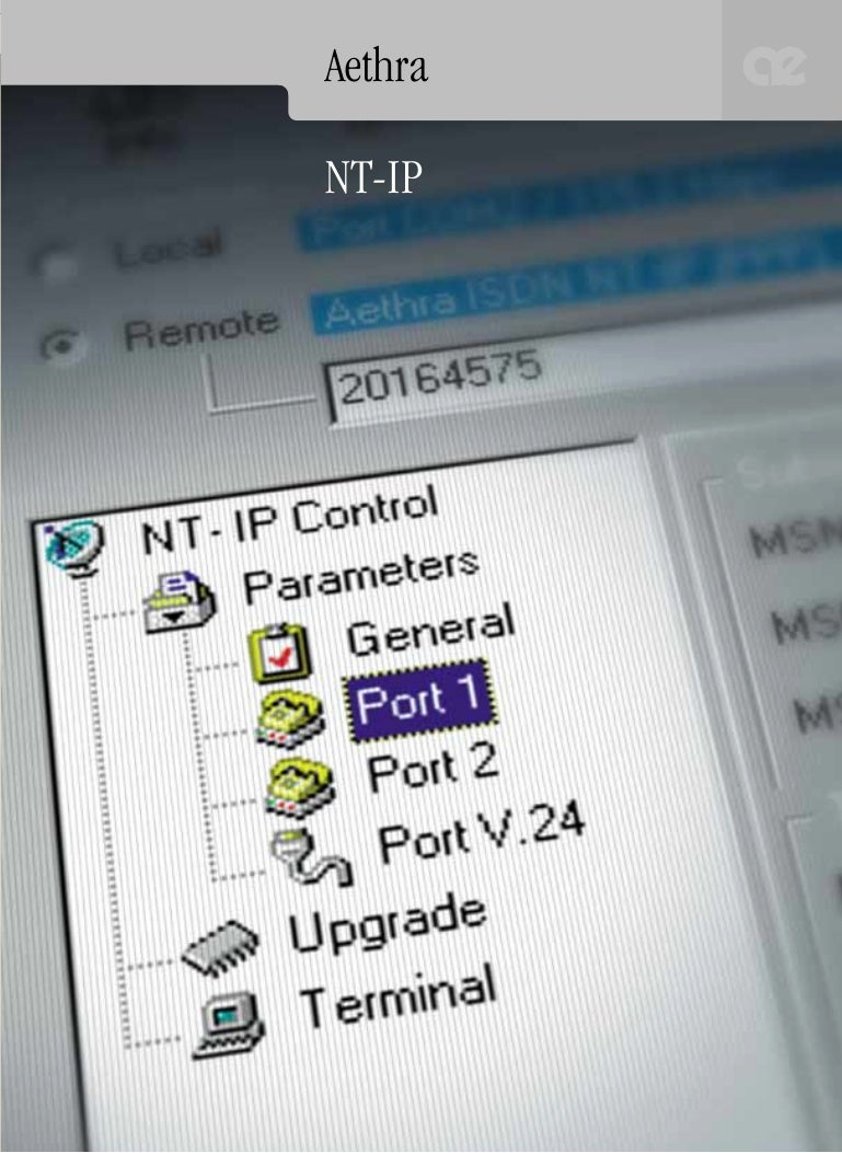 AETHRA AETHRA ISDN NT-IP (PPP) DRIVERS FOR WINDOWS