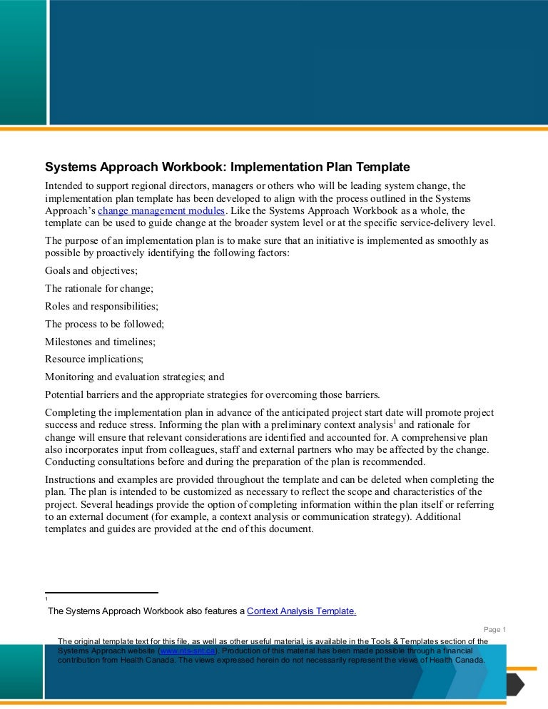 Nts Systems-Approach-Implementation-Plan-2012-En
