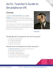 An English Language Teacher's Guide To Smartphone VR