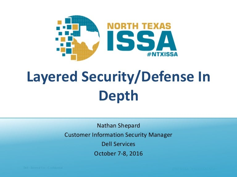 Ntxissacsc4 Layered Security Defense In Depth
