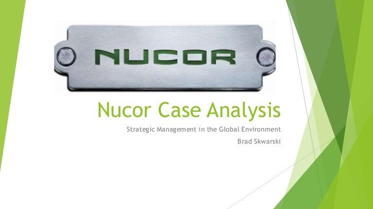 nucor steel case study wharton