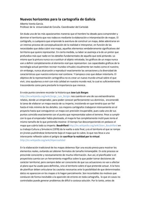 Nuevos horizontes para la cartografia de galicia jun2010