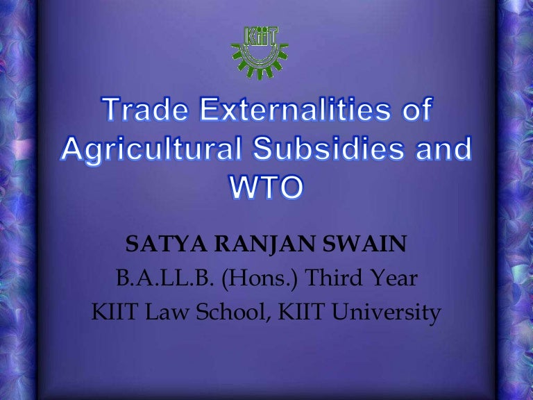 agricultural subsidies and development essay 2 Subsidies, these policies did not succeed in triggering or improving rural development 2 therefore, the oecd calls for a rethinking and champions integrated approaches in a.