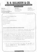 Letter to NULGE on the Libelous Publication Against Dr Kayode Fayemi