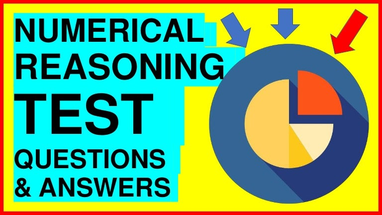 Numerical Reasoning Test Questions And Answers Pdf
