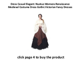 elegantly casual dresses Nuotuo Womens Renaissance Medieval Costume Dress Gothic Victorian Fancy Dress Girls Online