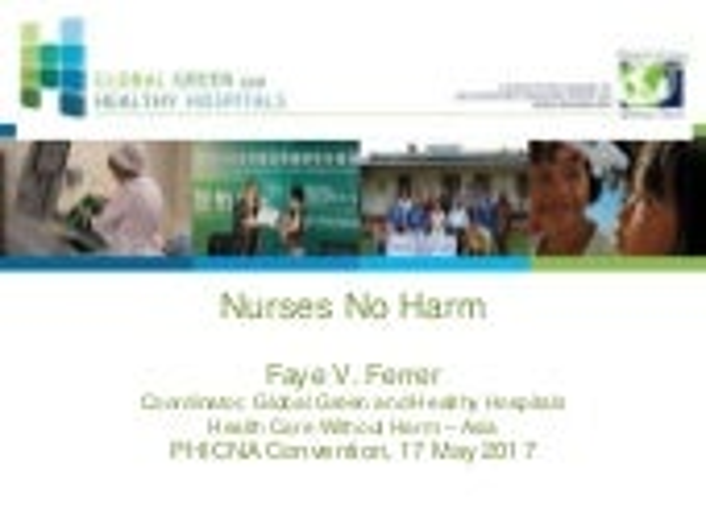 Nurses No Harm