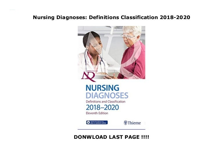 Nursing Diagnoses: Definitions Classification 2018-2020
