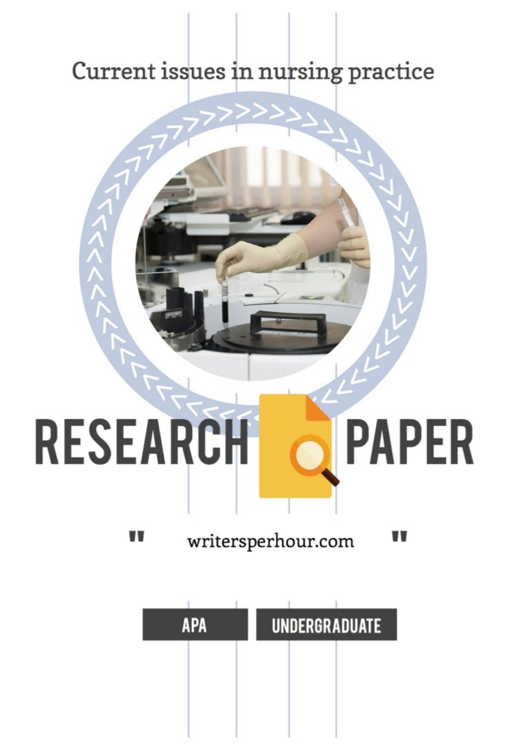 Example of nursing research paper