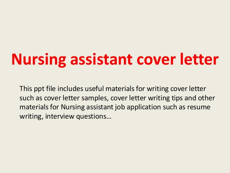 cover letter examples cover letters sample cover letter highly oyulaw name certified nursing assistant cover letter