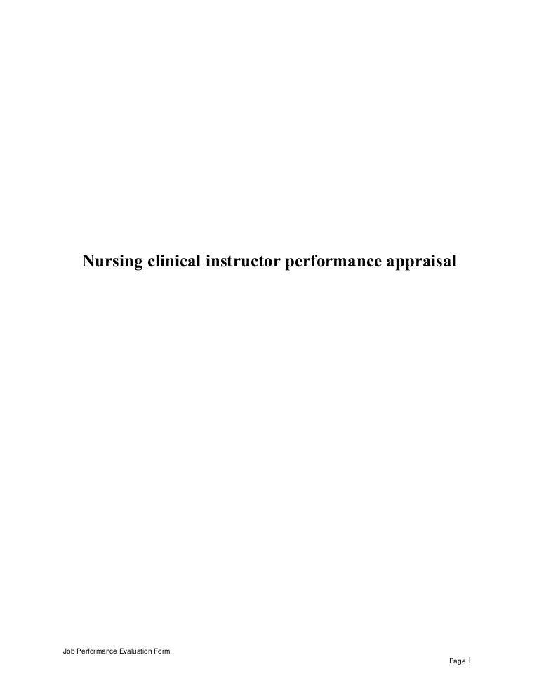 Nursingclinicalinstructorperformanceappraisal-150514053515-Lva1-App6892-Thumbnail-4.Jpg?Cb=1431581758