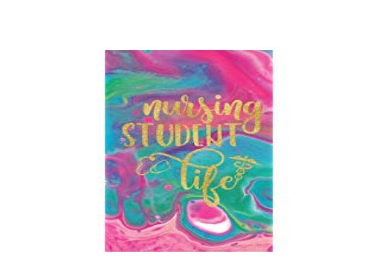 E-BOOK_HARCOVER LIBRARY Nursing Student Nurse Planner 2019 ...