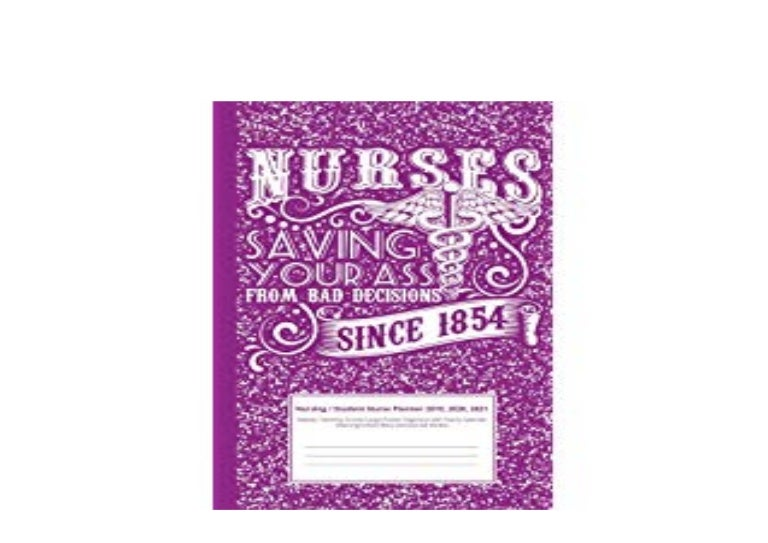 BOOK_TEXTBOOK LIBRARY Nursing Student Nurse Planner 2019 ...