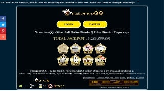 Nusantara qq situs judi online bandarq poker domino terpercaya di indonesia