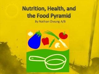 Nutrition, Health, And Food Pyramid Presentation