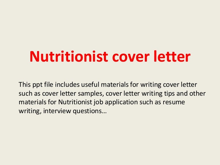 np cover letter