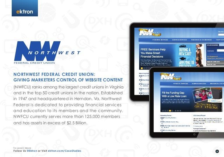 Northwest Federal Credit Union Login >> Northwest Federal Credit Union: Giving Marketers Control ...