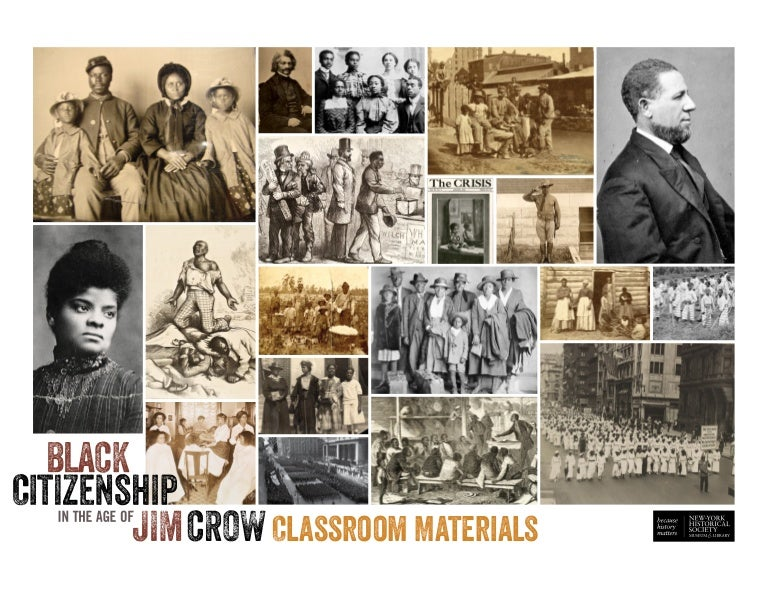 Curriculum: Black Citizenship in the Age of Jim Crow
