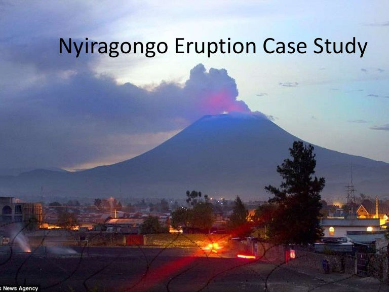 mount nyiragongo eruption case study