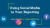 Using social media in your reporting - Amy Bartner - Muncie - 4.14.18