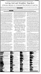 Ny times open letter to muslims