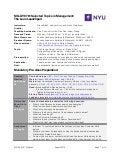 NYU 5-Day Lean Launchpad Syllabus