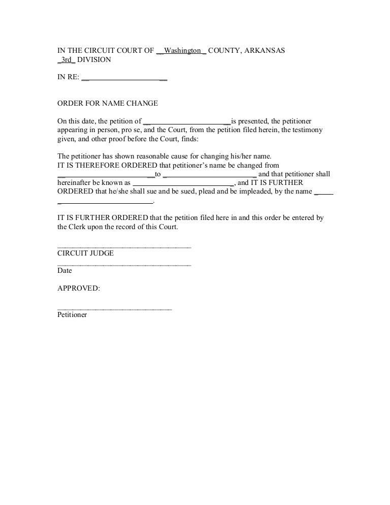Name change application letter format gallery letter format formal court order for name change spiritdancerdesigns Image collections