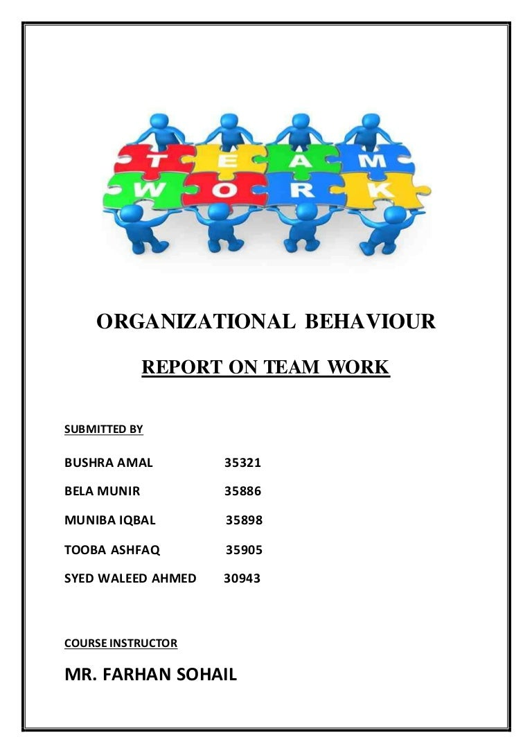 team work report