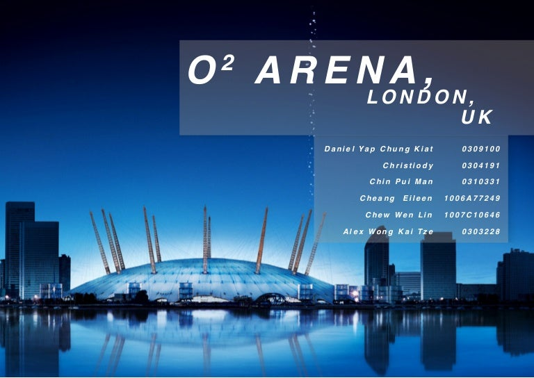 O2 Arena Booklet