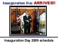 Obama's Inaugration day arrives!!