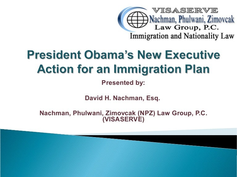 Obama's New Immigration Plan