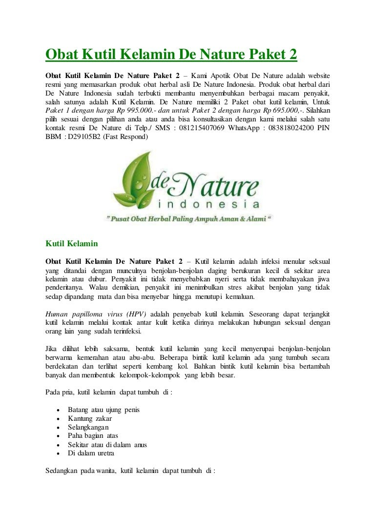 Obat Kutil Kelamin De Nature Paket 2 Obatkutilkelamindenaturepaket2 170503064042 Thumbnail 4cb1493793694