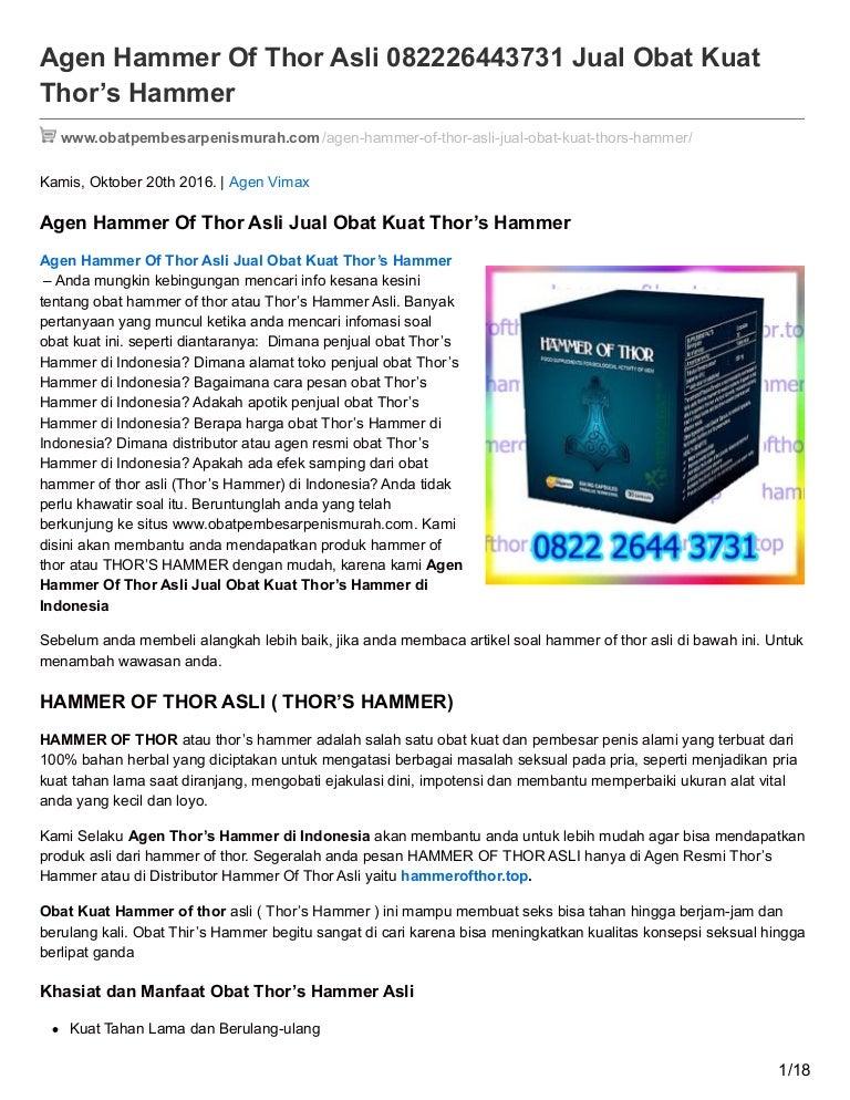 agen hammer of thor asli 082226443731 jual obat kuat thors hammer