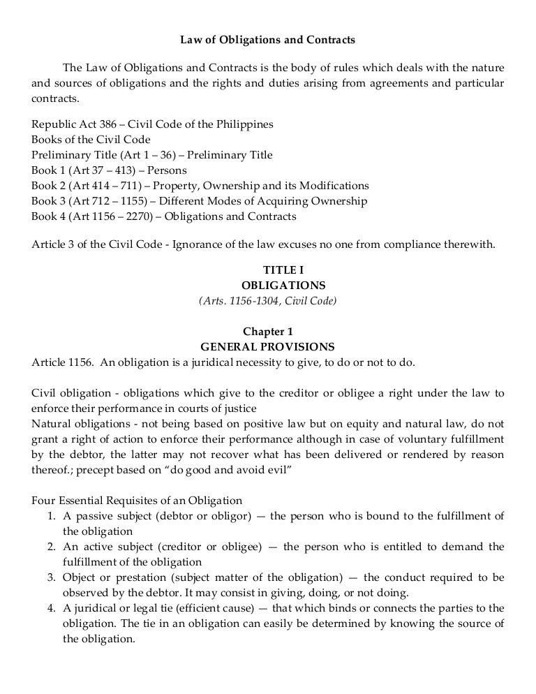 Civil Code Of The Philippines By Paras Pdf