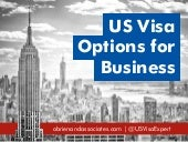 US Visa Options for Business
