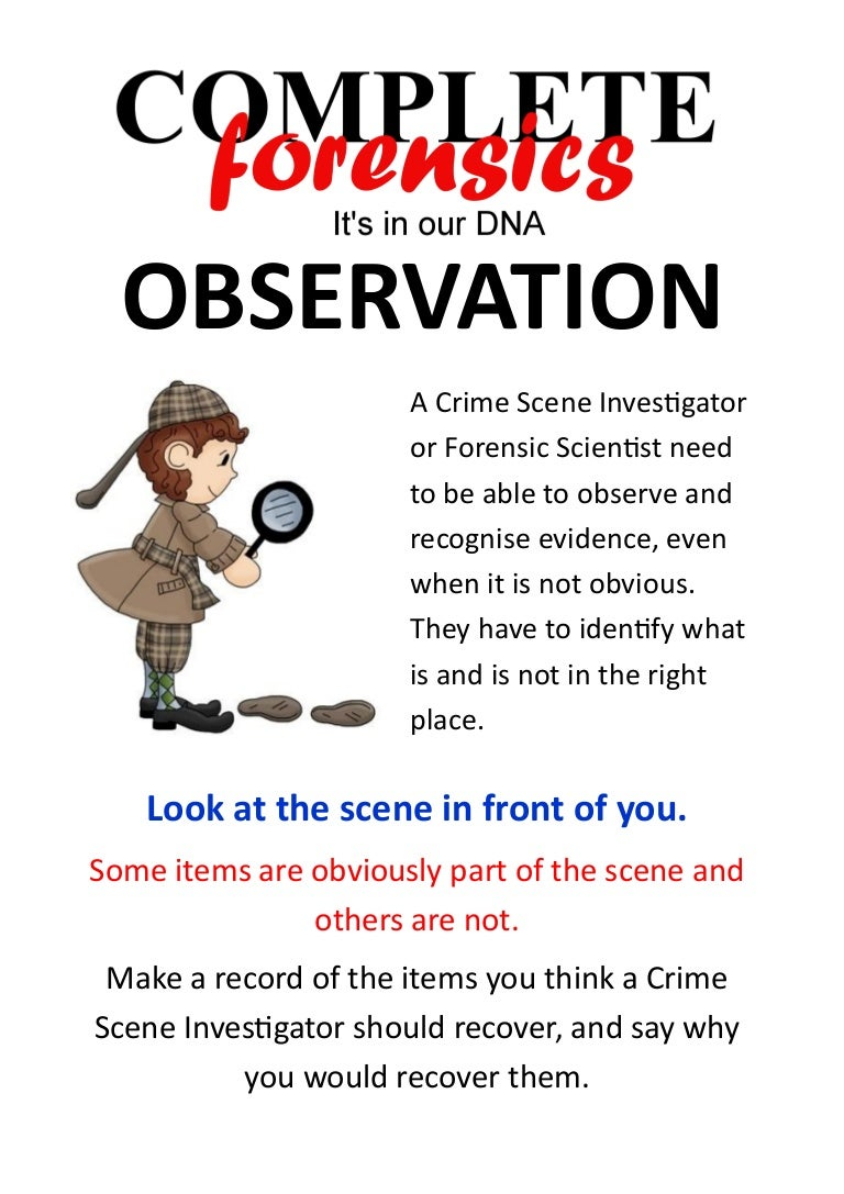 Have A Go Observation