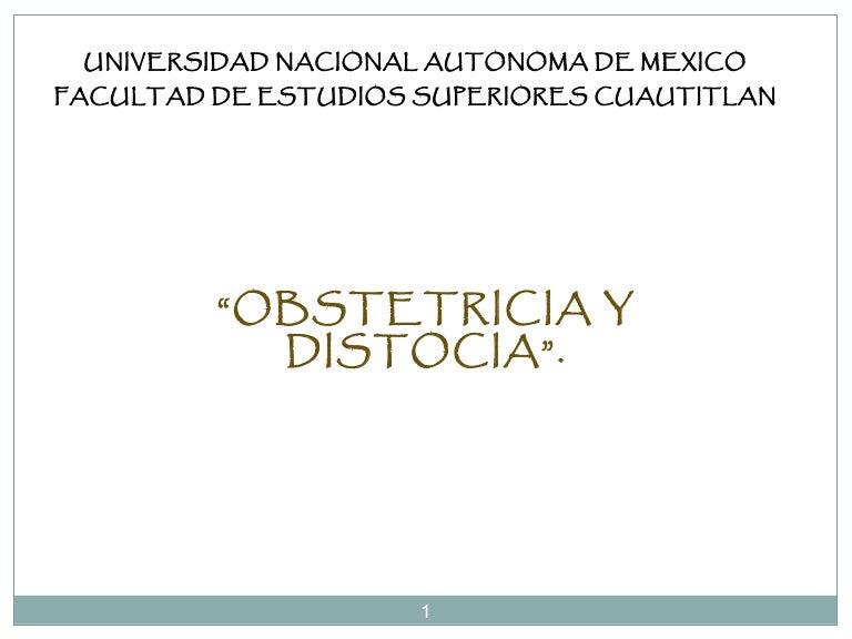 Obstetricia distocia