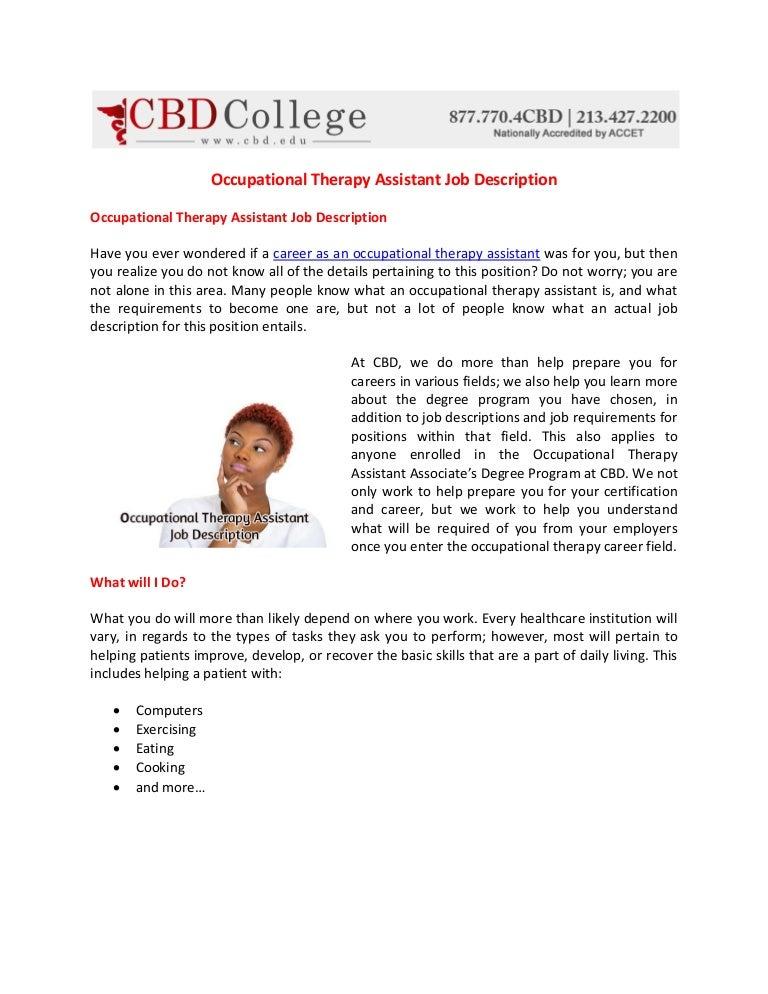 occupationaltherapyassistantjobdescription141030043913conversiongate02thumbnail4jpgcb 1414644149 – Occupational Therapy Job Description