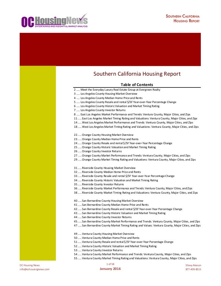 Oc housing news