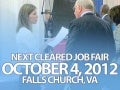 Career Support Seminars at Oct 4th Cleared Job Fair