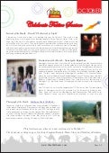 Celebrate Festive Season - Newsletter (October 2011)