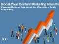 Boost Your Content Marketing Results